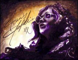 Janis Joplin by Atlasrising