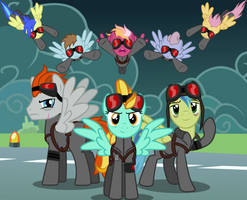 Bad Future - Royal Equestrian Air Force by Astringe