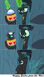 Easter Eggs by Astringe