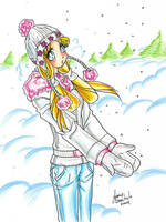 Sailor Moon: Winter Bunny by AnimeJanice