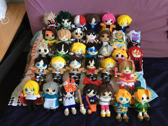 Anime Plushies by AnimeJanice