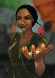 Light  by Ichsanalfathan