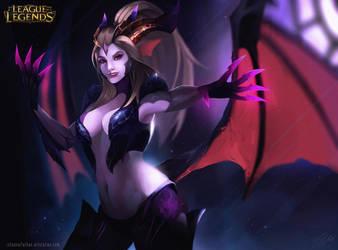 dragon sorcerer zyra  by Ichsanalfathan