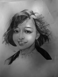 simple sketch  by Ichsanalfathan