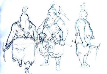faesau sketch by raqsonu