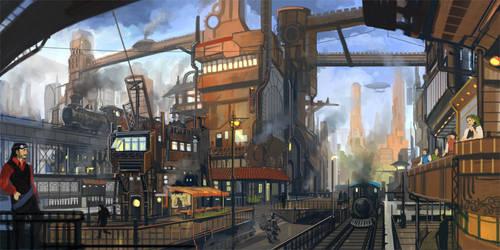 Steamcity by raqsonu