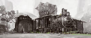 Casa trem by raqsonu