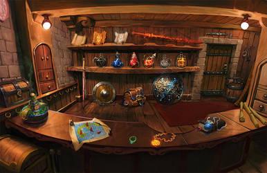 Merchant Shop by raqsonu