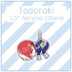 Todoroki Acrylic Charm by nalu-art