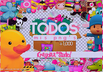 PACK - Todos mis pngs by imabelopez