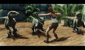 Lara vs Raptors by LoiccoiL
