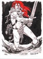 Fan Request Red Sonja 1 by TessFowler
