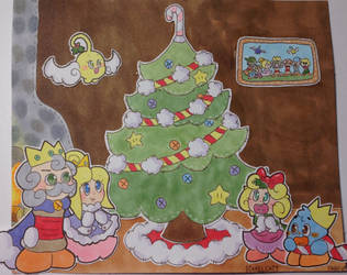 happy holidays from the Patch Family! by PixxelCatt