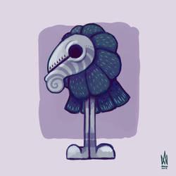 DFT - Cartoonised - Crow by Illusiontracions
