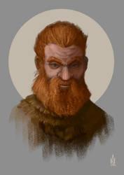 Viking Portrait by Illusiontracions