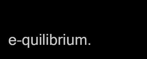 e-quilibrium's Profile Picture