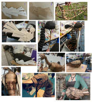 The Making of Saracen the Goose Puppet by Bluelioness