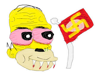 Homer Simpson's Abgerumt Soul by Swagybread