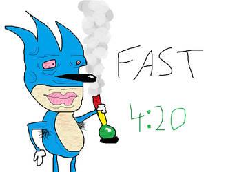 Sonic Gotta Go Fast by Swagybread