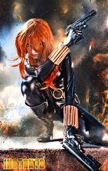 Black Widow by IssssE