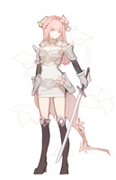 flower knight by jayuu