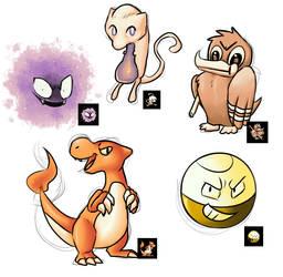 Pokemon Sprites by LogicalLoony