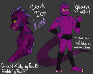 ROTTMNT Dark Don [Collab REF] by Foziz105