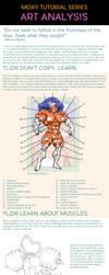 Muscle Art Analysis Tutorial by MoxyDoxy
