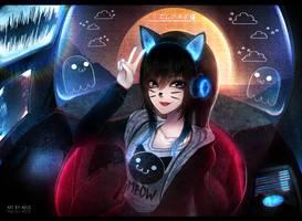 Kitten In The Rhythm by Aeusthetic