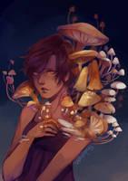 Mushrooms by Pandastrophic