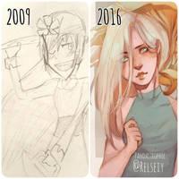 Art progress by Pandastrophic