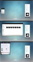 Azure Companion | Rainmeter Desktop by KreDoc