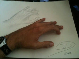 My first hand ... by SawyerIII