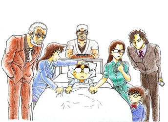 Aoyama Gosho sick by MeiTanteixX