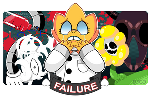 Alphys True Lab by HalfbreedDege
