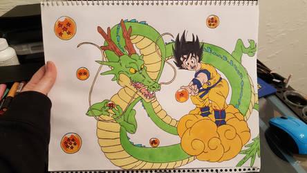 WIP - Dragon Ball Z  by Nessie-Noodlez