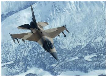 F16 Agressor by redkorn