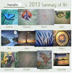 Summary of Art 2013 by Nairalin