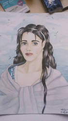 Lady of Gondor - Painting by Nairalin
