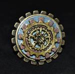 Symmetrical Steampunk Gear Ring by MarilynFaye