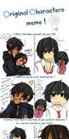 OC Double meme - Jack and Saito by CuteNikeChan