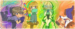 Handheld Gamers by CuteNikeChan