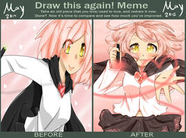 Finally... - Before and After Meme by CuteNikeChan