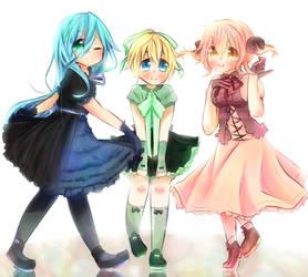 Dresses by CuteNikeChan