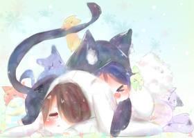 Bunny Hug by CuteNikeChan