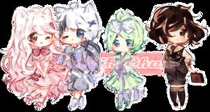 Sweet Sailor Batch 2 by CuteNikeChan