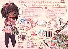 Meet The Artist! //criess by CuteNikeChan