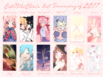 Art Summary 2017 by CuteNikeChan