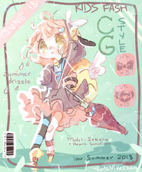 CG Style: Issue JUNE - Summer Drizzle by CuteNikeChan