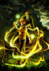 Grim Weasley Twins :DH by lorraine-schleter